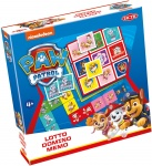 Tactic 3-in-1 games (memo, lotto, domino) Paw Patrol