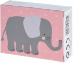Free and Easy mini puzzel 13 x 18 cm olifant
