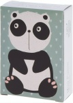 Free and Easy mini puzzel 18 x 13 cm panda