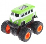 Toi-Toys 4x4 Die-Cast cross bus groen
