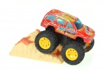 Toi-Toys Metal frictie monstertruck 9cm rood