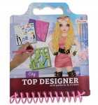 Toi-Toys drawing book with stickers Fashion City girls
