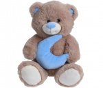 TOM teddy bear star junior 25 cm plush brown/blue