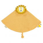 Trixie cuddly blanket Mr. Lionjunior 7 x 7 cm cotton/textile yellow