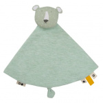 Trixie cuddly blanket Mr. Polar Bear7 x 7 cm cotton/textile green
