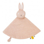 Trixie cuddly blanket Mrs. Rabbitjunior 7 cm cotton/textile pink