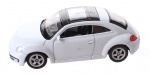 Welly schaalmodel Next 1: 60 VW Beetle wit 6,5 cm